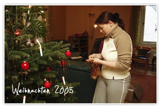 Weihnachten 2005 - Vorher Foto - Vor Metabolic Balance