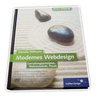 Buch von Manuela Hoffmann - Modernes Webdesign