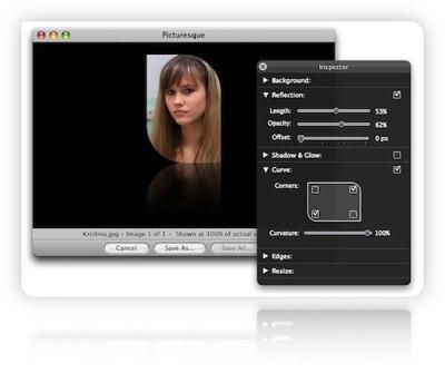 Bildbearbeitung für iMac