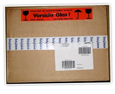 Ein Paket aus Lüneburg
