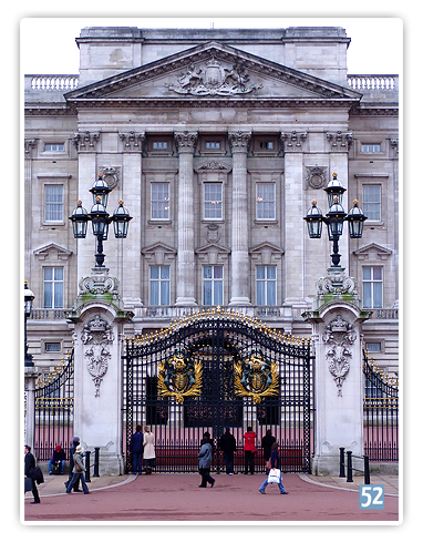 Woche 10 - Architektur - Buckingham Palace