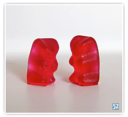 Woche 9 - Farbe rot - lecker Gummibärchen