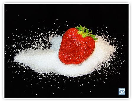 Woche 15 - Lebensmittel Erdbeere