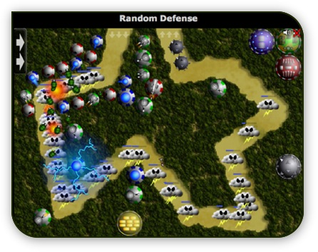 Random Defence - Online Game