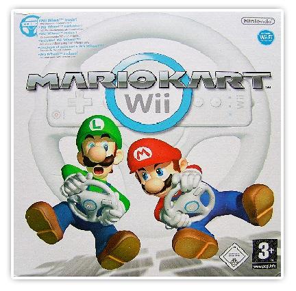 Unser Mariokart für die Wii ist heute angekommen