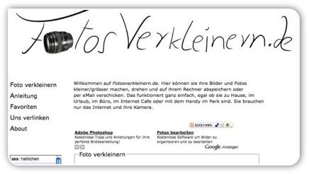 Fotosverkleinern.de