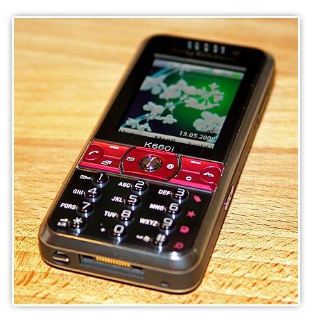 mein neues Handy - Sony Ericsson k660i