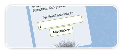 Blogwiese.de jetzt per Mail abonnieren