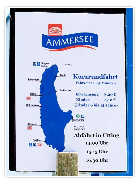 Tagesusflug am Ammersee