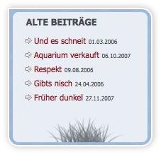 Box - Alte Beiträge