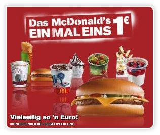 McDonald Werbung
