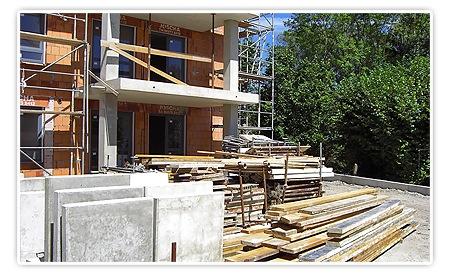 Terrasseneingang Wohnzimmer und Küche