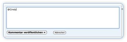 Screen - aus dem Adminbereich antworten