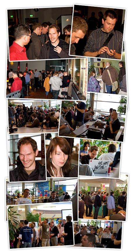 Fotos vom BarCamp in München