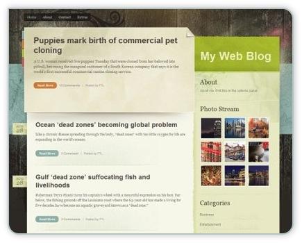 kostenloses WordPress Theme