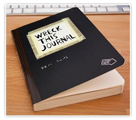 großer Bruder von Moleskine - Wreck this Journal