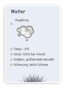 altes Wetterplugin