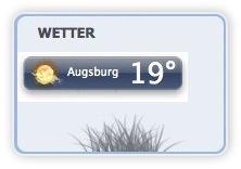 Wetter Plugin