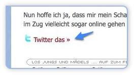 Tweet This - Plugin