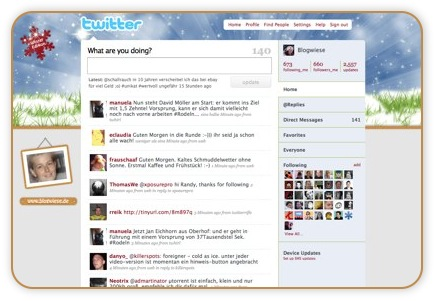 twitter background blogwiese Kostenlose Twitter Themes