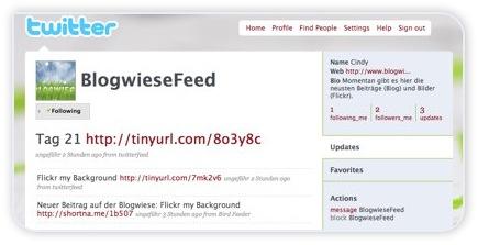 Twitter - BlogwieseFeed