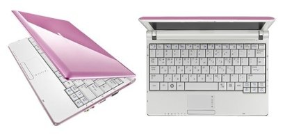 Laptop in Pink
