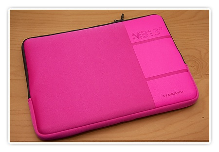 MacBook Tasche in Pink