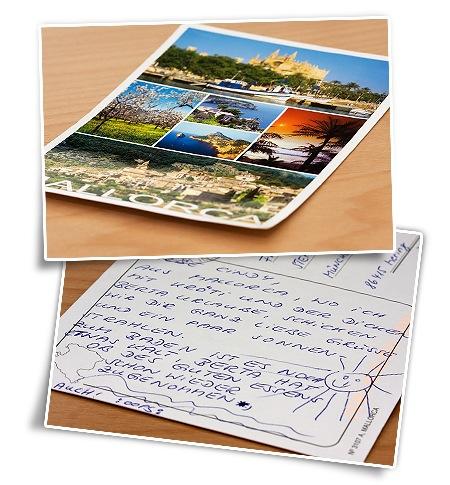 Postkarte aus Mallorca