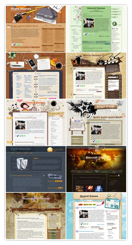 WordPress Theme von ezwpthemes.com
