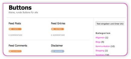 Button Blog Screenshot