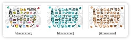 gepixelte Iconsets