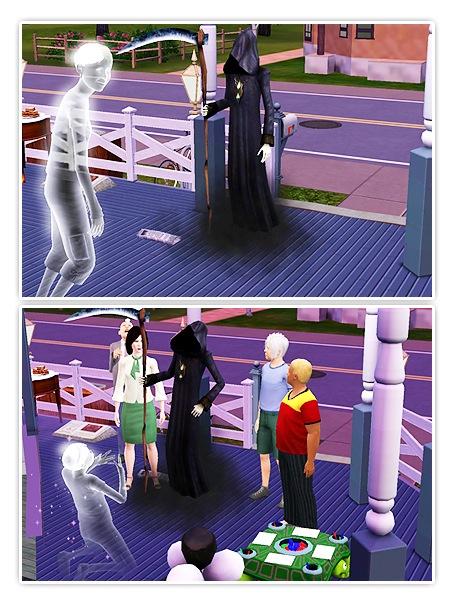 Sims 3 - Geburtstagsparty und Geister