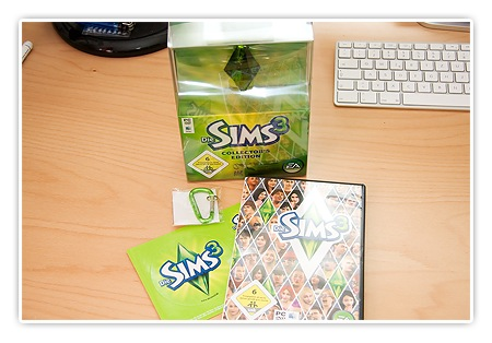 Sims 3 DVD und USB Stick Collector Edition