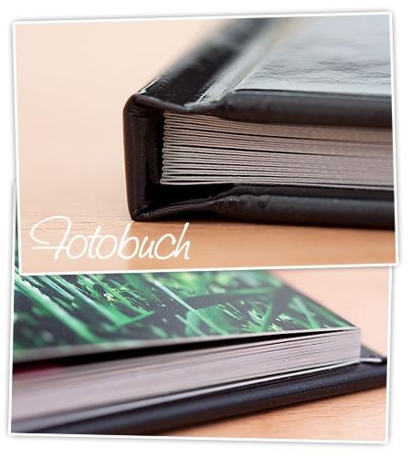 Fotobuch von FujiDirekt - Nahaufnahme vom Papier und Buchrücken