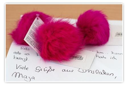 Katzenspielzeug in Pink - Whoohoooo
