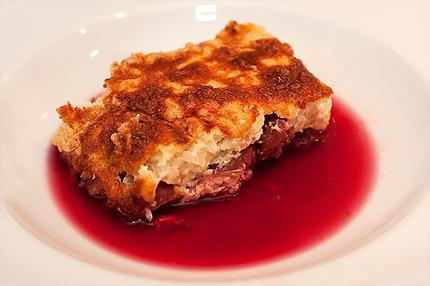 Rezept: Milchreis-Quark-Kirsch-Kuchen