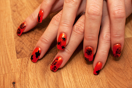Nail Art Design - Halloween