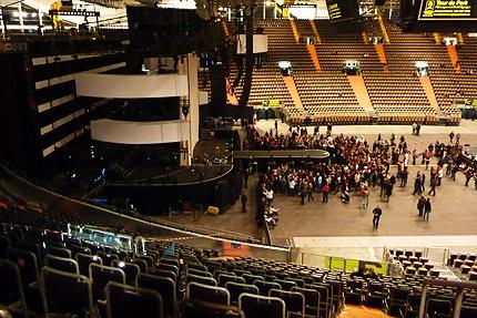 Xavier Naidoo Konzert - Bühne von oben