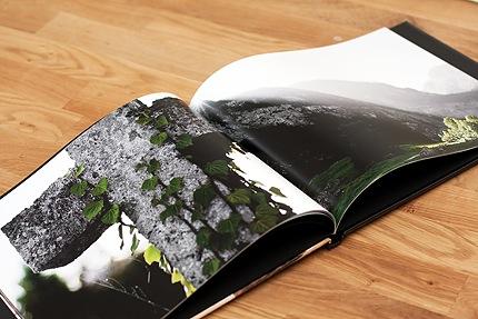 Zwischendrin im Fotobuch