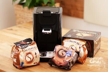 Senseo - Quadrante und verschiedene Kaffeesorten