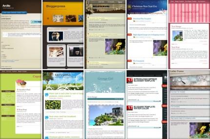 Designs für Blogger.com