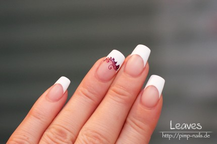 Nail Art - Leaves