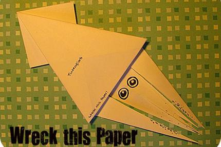 Tintenfisch - Origami