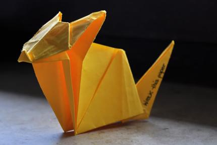 Katze - Origami