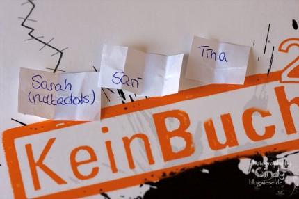 KeinBuch 2 - Gewinner