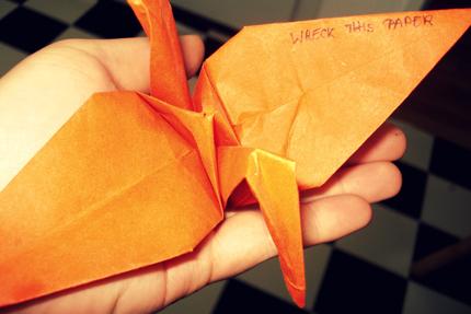 Kranich - Origami