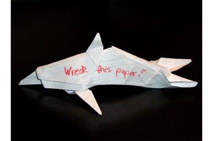 Delphin - Origami