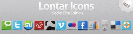 Social Media Icons von Zeusboxstudio.com