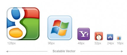 Social Media Icons von Icon Dock