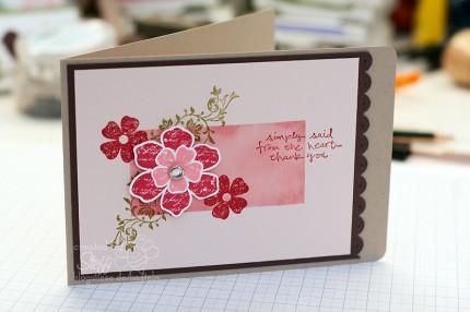 Muttertagskarte - Handmade